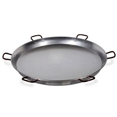 130cm Polished Steel Paella Pan