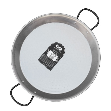 36cm Polished Steel Paella Pan