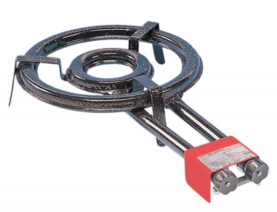 350mm Dual Ring Outdoor Paella Burner
