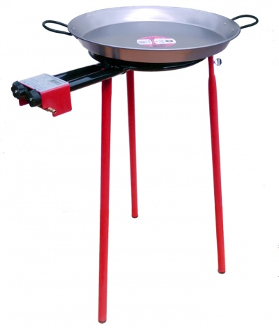 350mm Burner Garden Paella Set