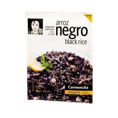 Carmencita Arroz Negro Dry Stock Mix