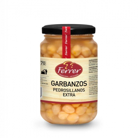 Ferrer Cooked Chickpeas 345g