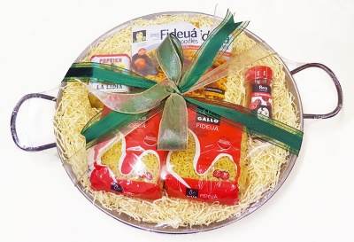 Fideuà Gift Set for 6-8 (38cm Pan)