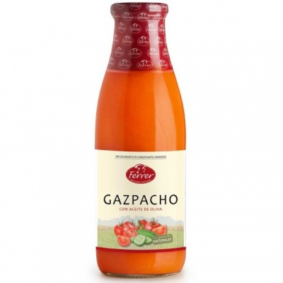 Natural Gazpacho 720ml Bottle