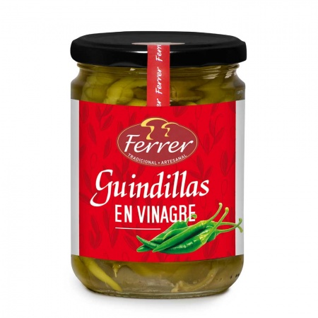 Spicy Green Chillies (Guindillas) 415g