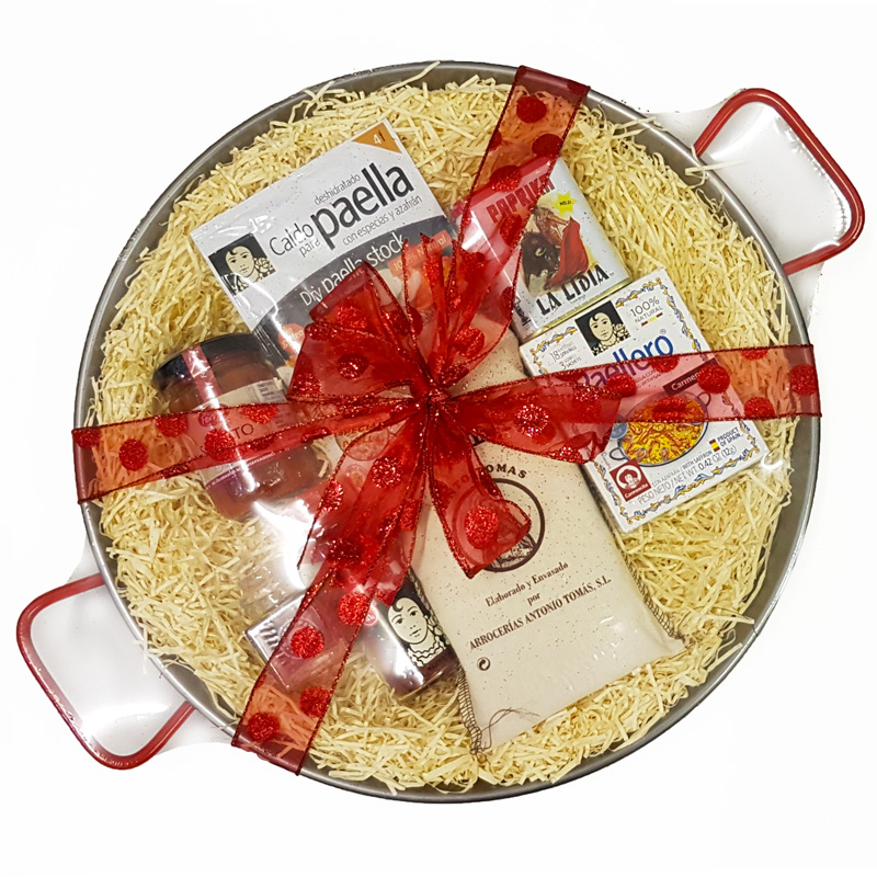 Luxury Paella Gift Set for 6-8 (38cm Pan)
