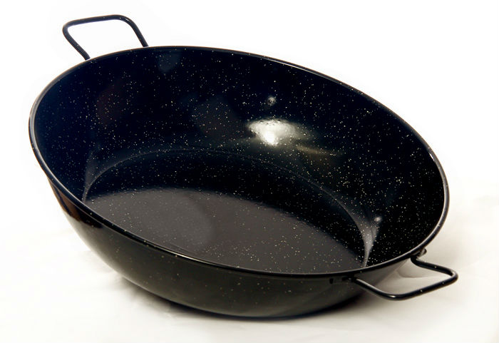 40cm Deep Enamelled Pan