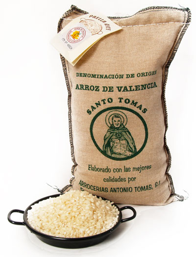 1Kg Cloth Bag Paella Rice extra (D.O. Arroz de Valencia)