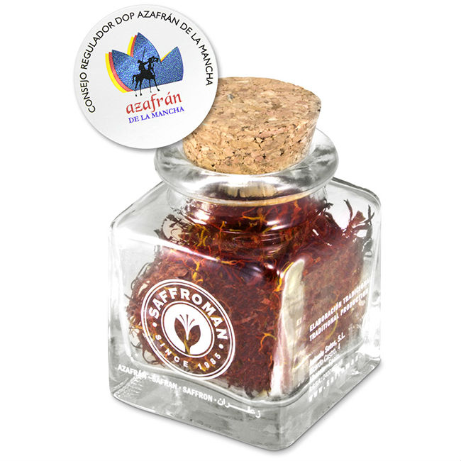 D.O La Mancha Saffron 1g in Glass Jar