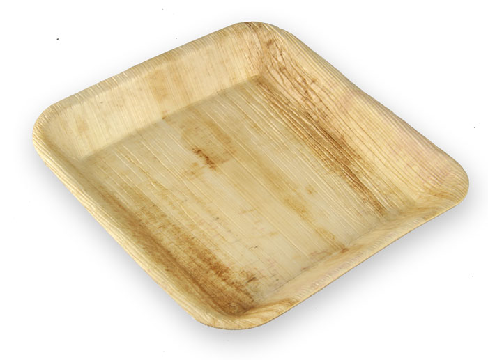 Favorite The Paella Company - 24cm Square Palm Leaf Plate (25pk/100pk) SO98