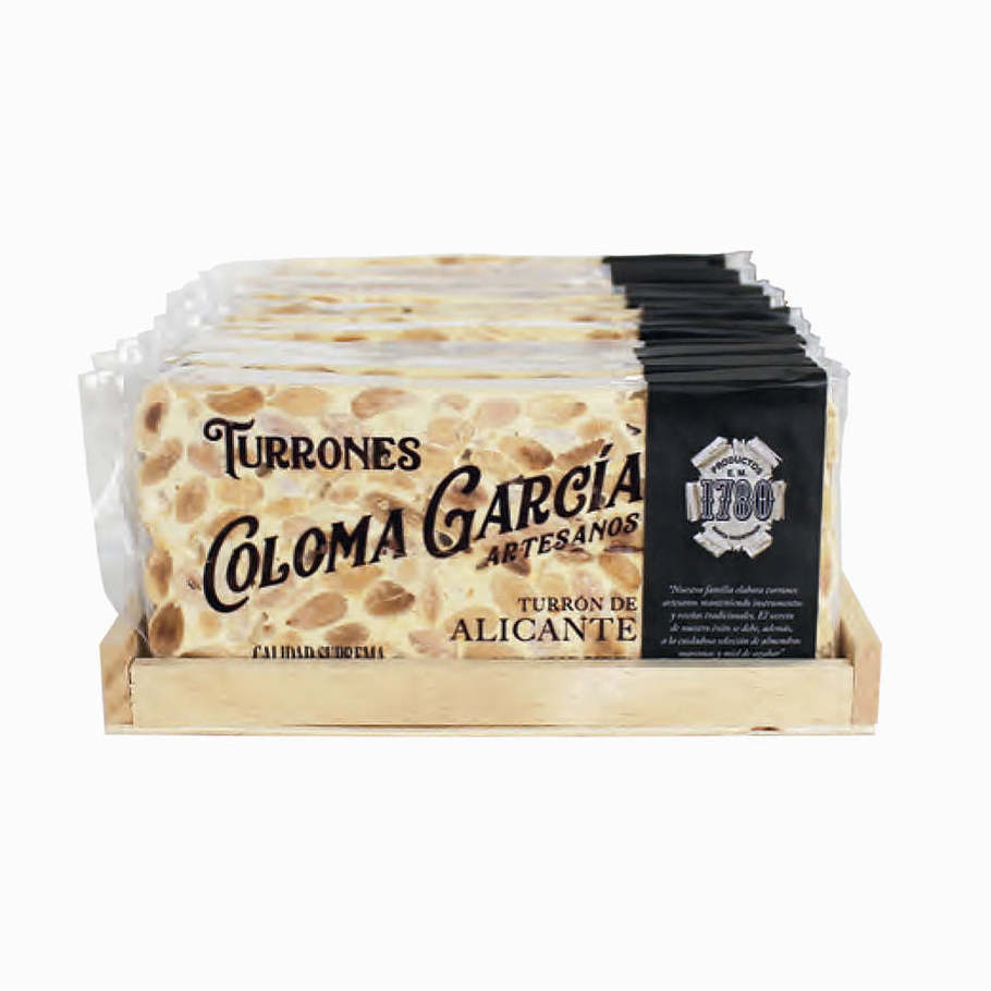 Turrón de Alicante (Hard) Gourmet Selection 200g