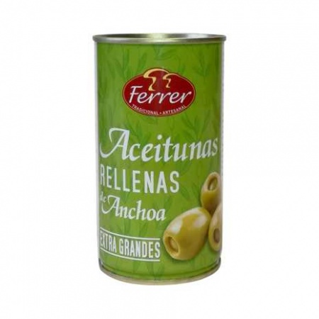 Manzanilla Olives stiffed with Anchovy
