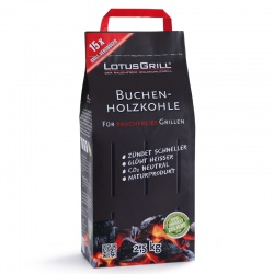 LotusGrill Beechwood Charcoal 2.5Kg Bag