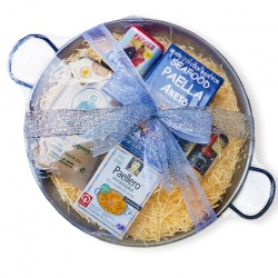 Seafood Paella Starter Gift Set for 3-4 (36cm Pan)