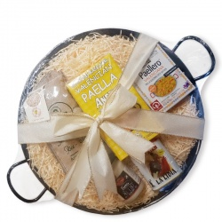 Valencian Paella Starter Gift Set for 3-4 (36cm Pan)