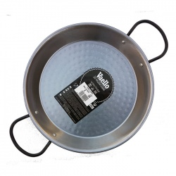 26cm Polished Steel Paella Pan