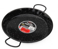 30cm Enamelled Steel Paella Pan for Ceramic, Induction & AGA hobs