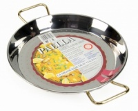 32cm Stainless Steel Paella Pan