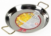 34cm Stainless Steel Paella Pan