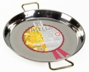 38cm Stainless Steel Paella Pan