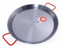 42cm Polished Steel Paella Pan - Garcima