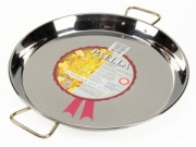 42cm Stainless Steel Paella Pan