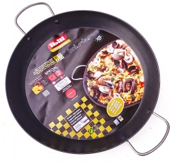 45cm Non-Stick Stainless Steel Paella Pan for Ceramic, Induction & AGA hobs