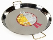 46cm Stainless Steel Paella Pan