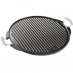 53cm Enamelled Cast Iron Griddle