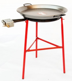 Premium 55cm Paella Set (with Flame Failure Cutoff Gas Burner)