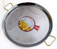 60cm Stainless Steel Paella Pan
