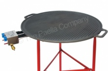 65cm Reversible Cast Iron Griddle