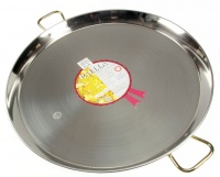 70cm Stainless Steel Paella Pan