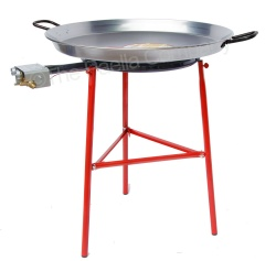 Premium 70cm Paella Set (with Flame Failure Cutoff Gas Burner)