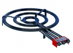 640mm Tripple Ring Outdoor Paella Gas Burner