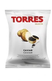 Torres Premium Spanish Crisps with Caviar (110g)