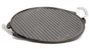 43cm  Reversible Cast Iron Griddle