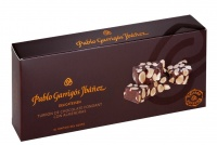Dark Chocolate Turron with Almonds 300g