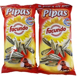 Large Toasted Sunflower seeds  (Pipas Euro Extra)<br>