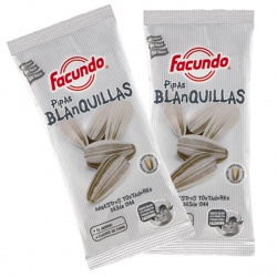White Sunflower seeds ( Pipas Blanquillas)