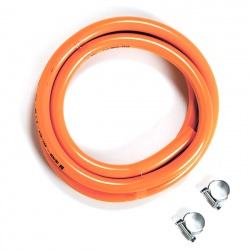 Gas Hose & Clips