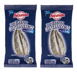 Extra Large  Sunflower seeds  (Pipas Extra Grandes a la Sal)