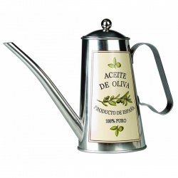 500ml Stainless Steel Olive Oil Tin