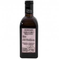 Oro del Desierto Extra Virgin Organic Olive Oil 500ml