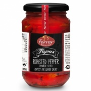 Roasted Red Peppers in Strips 340g