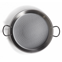40cm Polished Steel Paella Pan