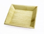 18cm Square Palm Leaf Plate (25pk/100pk)