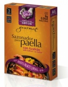 100% Natural Paella seasoning - 3 sachets