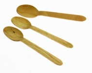 Wooden Disposable Spoon (100pk)
