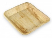 24cm Square Palm Leaf Plate (25pk/100pk)